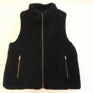J Crew Fuzzy Vest
